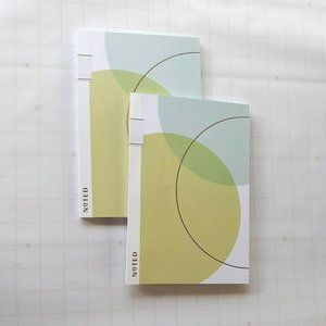 Post-it Lined Notebook - Blue Circles Set of 2